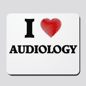 I Love Audiology Mousepad