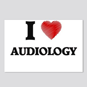 I Love Audiology Postcards (Package of 8)