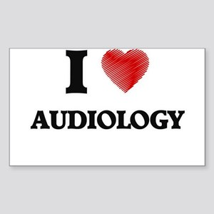 I Love Audiology Sticker