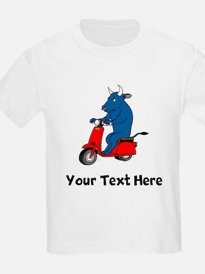 Bull On Scooter (Custom) T-Shirt
