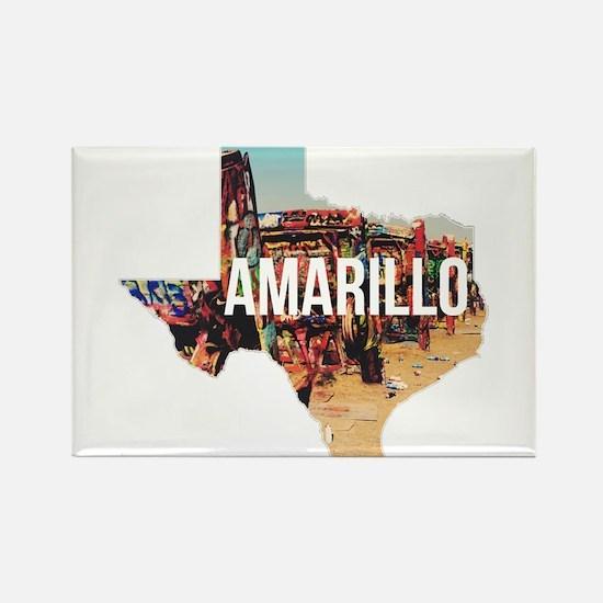 Amarillo Cadillac Ranch Magnets
