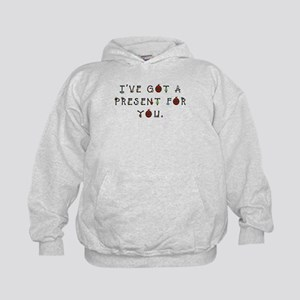 I've Got a Present for You Kids Hoodie