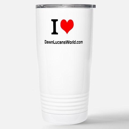 Dawn Lucan's World Stainless Steel Travel Mug