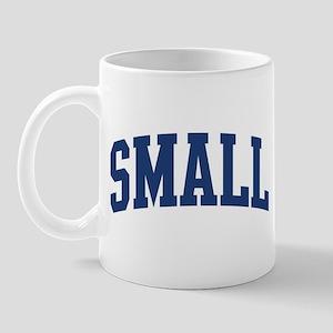 SMALL design (blue) Mug