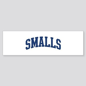 SMALLS design (blue) Bumper Sticker