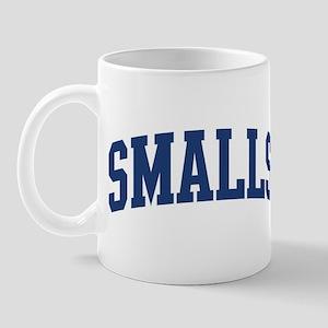 SMALLS design (blue) Mug