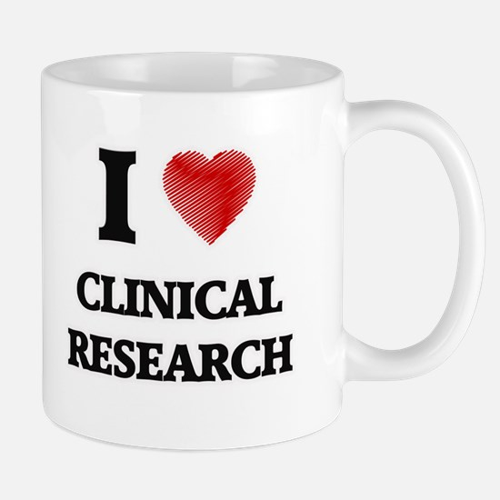 I Love Clinical Research Mugs