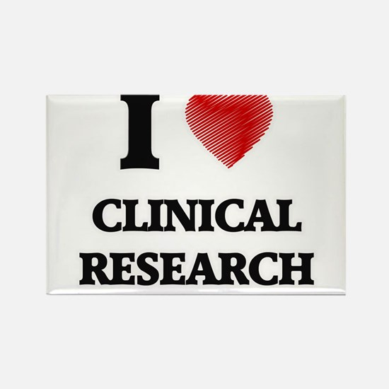I Love Clinical Research Magnets