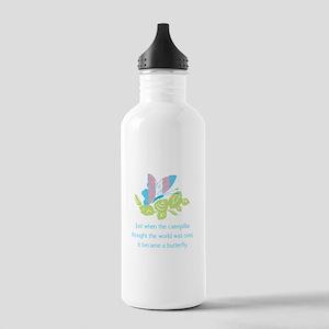 Transgender Butterfly Stainless Water Bottle 1.0L