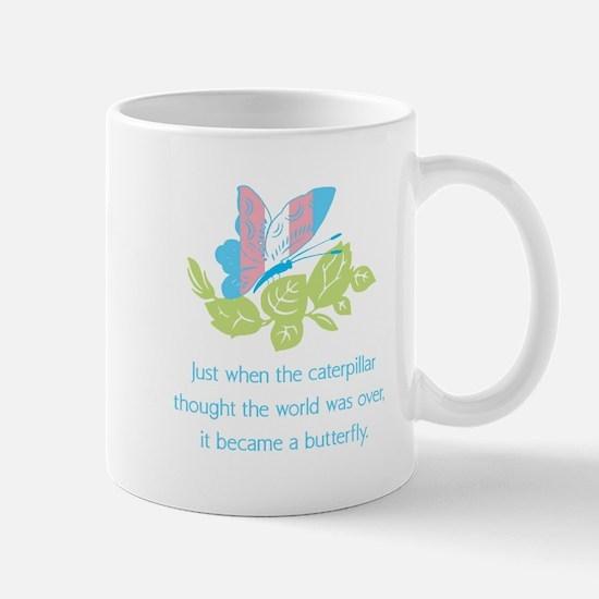 Transgender Butterfly Mugs