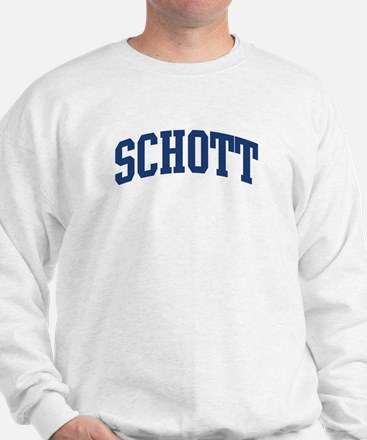 SCHOTT design (blue) Jumper