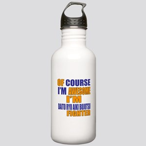 I Am Awesome Daito Ryu Stainless Water Bottle 1.0L