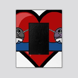 Narwhal Couple Picture Frame