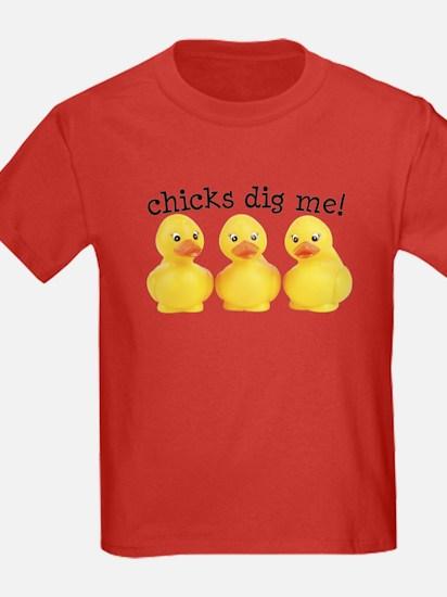 Chicks Dig Me T