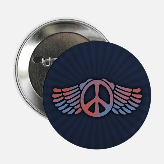 """Peace Wing 2.25"""" Button"""