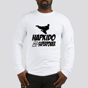 Hapkido Is My Superpower Long Sleeve T-Shirt