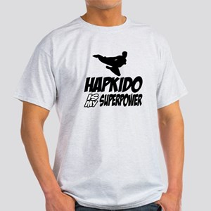 Hapkido Is My Superpower Light T-Shirt