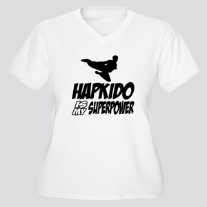 Hapkido Is My Sup Women's Plus Size V-Neck T-Shirt