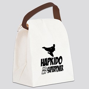 Hapkido Is My Superpower Canvas Lunch Bag