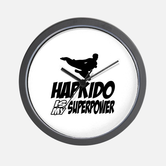 Hapkido Is My Superpower Wall Clock