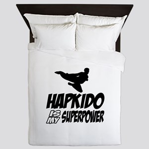 Hapkido Is My Superpower Queen Duvet