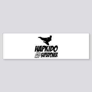 Hapkido Is My Superpower Sticker (Bumper)