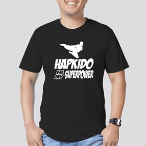 Hapkido Is My Superpow Men's Fitted T-Shirt (dark)