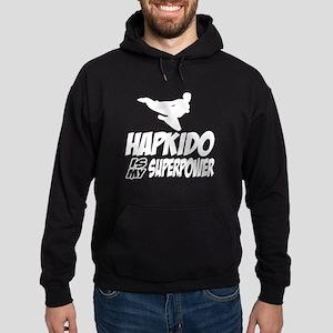 Hapkido Is My Superpower Hoodie (dark)