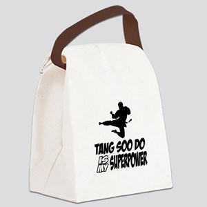 Tang Soo Do Is My Superpower Canvas Lunch Bag