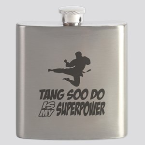 Tang Soo Do Is My Superpower Flask