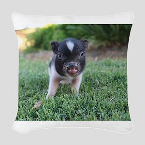 Gibbles Woven Throw Pillow
