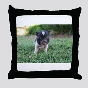 Gibbles Throw Pillow