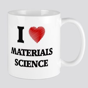 I Love Materials Science Mugs