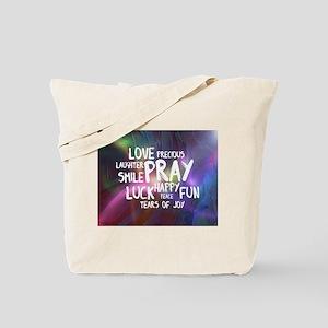 Live Life Colourful Tote Bag