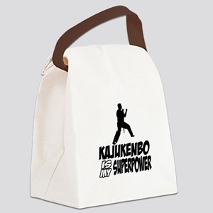 Kajukenbo Is My Superpower Canvas Lunch Bag