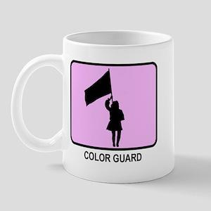 Color Guard (pink) Mug