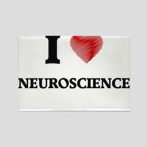 I Love Neuroscience Magnets