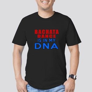 Bachata Dance Is In My Men's Fitted T-Shirt (dark)