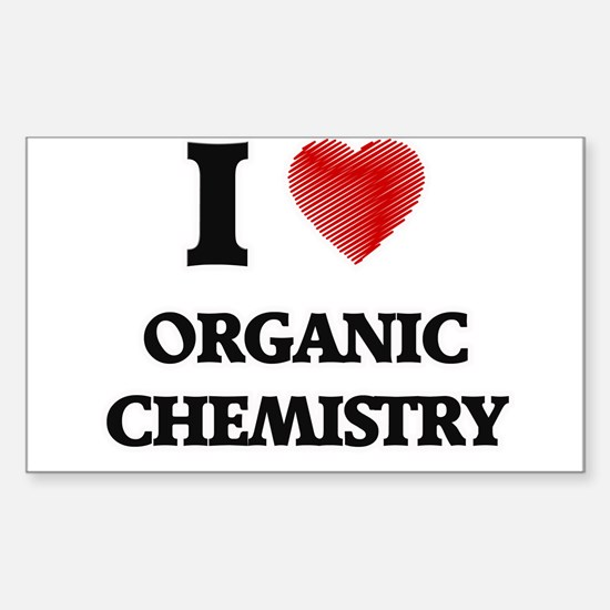 I Love Organic Chemistry Decal