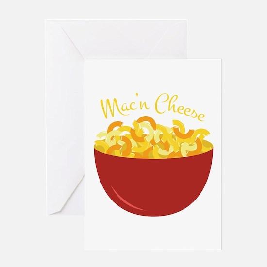 Mac N Cheese Greeting Cards