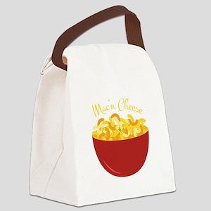 Mac N Cheese Canvas Lunch Bag