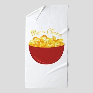 Mac N Cheese Beach Towel