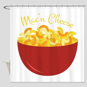 Mac N Cheese Shower Curtain