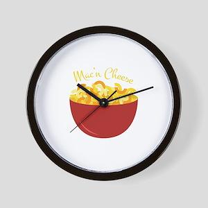 Mac N Cheese Wall Clock