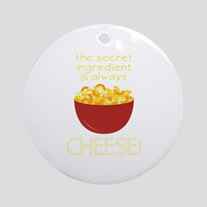 Secret Ingredient Round Ornament