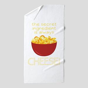 Secret Ingredient Beach Towel