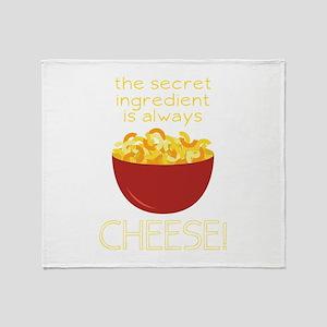 Secret Ingredient Throw Blanket