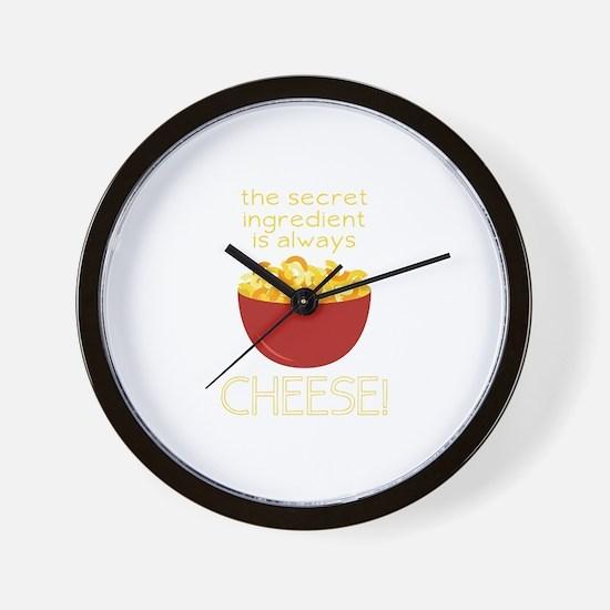 Secret Ingredient Wall Clock