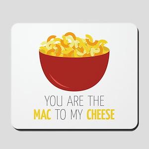Mac To Cheese Mousepad