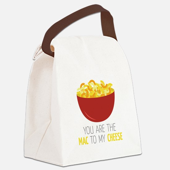 Mac To Cheese Canvas Lunch Bag